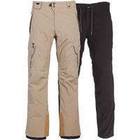 Khaki 686 Gore Tex Smarty Cargo Pant Mens