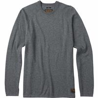 Dark Ash Heather Burton Stowe Raglan Sweater Mens