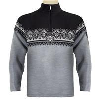 Metal Grey / Schiefer Vig / Black / Off White Dale of Norway St. Moritz Sweater Mens