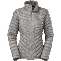 Metallic Silver The North Face Thermoball EV Jacket Womens