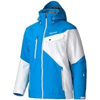 Methyl Blue / White Marmot Tower Three Jacket Mens