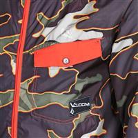 Military Camo Volcom Construct Jacket Mens