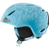 Milky Blue Leopard Giro Launch Helmet Youth