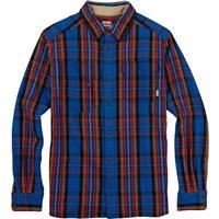 True Blue Northend Burton Mill Long Sleeve Woven Shirt Mens