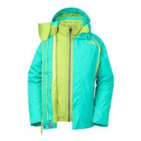 Mint Blue The North Face Kira 2.0 Triclimate Jacket Girls
