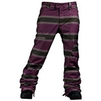 Mocha Faded Stripe Print Burton The White Collection Cosmic Delight Pant Mens