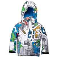 Moldan White Quiksilver Little Mission Moldan Jacket Boys