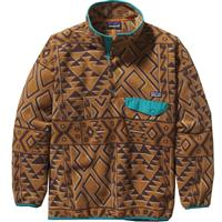 Patagonia Synchilla Snap-T Pullover - Men's - Montana Siete / Bear Brown