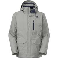 Monument Grey The North Face Thermoball Snow Triclimate Parka Mens