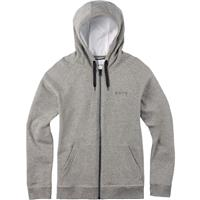 Monument Heather Burton Park Full Zip Hoodie Mens