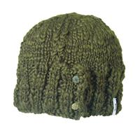 Moss Turtle Fur Vervain Hat Womens