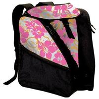 Multi Floral White Pink Transpack XTW Ski Boot Bag