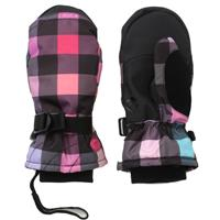 Multi Gingham Roxy Peace Mittens Girls