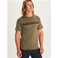 Marmot Forest Tee SS - Men's - Olive Heather