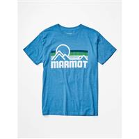 Marmot Marmot Coastal Tee SS - Men's - True Royal Heather