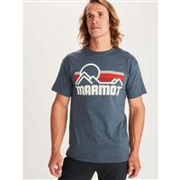 Marmot Marmot Coastal Tee SS - Men's - True Navy Heather