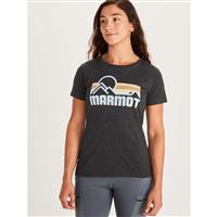 Marmot Coastal Tee SS - Women's - New Charcoal Heather