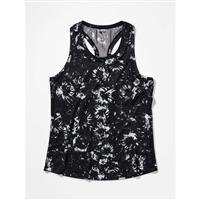 Marmot Beta Tank - Women's - Black Exploding Flowers