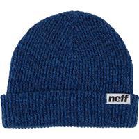 Navy / Blue Neff Fold Heather Beanie
