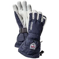 Navy Hestra Army Leather Heli Gloves Mens