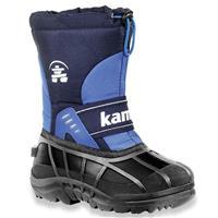 Navy Kamik Snowplay Snow Boots Juniors