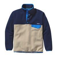Navy / Khaki Patagonia Synchilla Snap T Pullover Mens