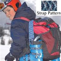 Navy Multi Fast Strap Spring Loaded Ski Boot Strap