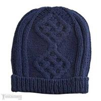 Navy Roxy Caviar Hat Womens