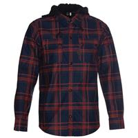 Navy Volcom Chainsaw Flannel Mens