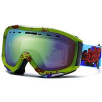 Neon Green Horrogami Frame with SOL X Lens Smith Prophecy Goggle