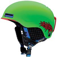Neon Green Horrogami Smith Maze Jr Helmet