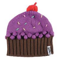 Neon Purple Neff Cupcake Beanie Girls