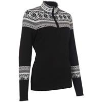 Black Neve Caroline 1/4 Zip Sweater Womens