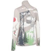White / Lime Print Neve Innsbruck Shirt Womens