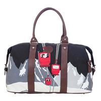 Print Neve Ski Weekender Bag