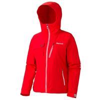 New Cherry Tomato Marmot Free Skier Jacket Womens