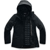 TNF Black The North Face Thermoball Snow Triclimate Jacket Womens