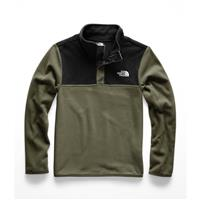 The North Face Glacier 1/4 Snap - Boy's - New Taupe Green