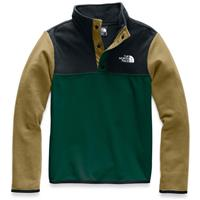 The North Face Glacier 1/4 Snap - Boy's - Night Green