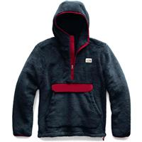 Urban Navy / Red The North Face Campshire Pullover Hoodie Mens