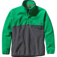 Patagonia Synchilla Snap-T Pullover - Men's - Nickel Heather / Tumble Green
