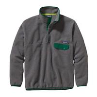 Patagonia Synchilla Snap-T Pullover - Men's - Nickel / Hunter Green