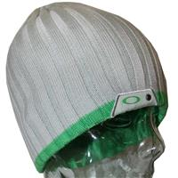 Nickel Oakley Two Toned Cuffed Beanie Womens
