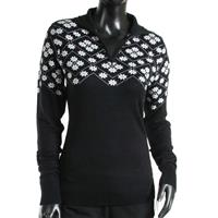 Black / White Nils Kajsa Sweater Womens