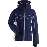 Navy / White Nils Kenzie Jacket Womens