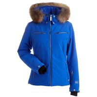 Nils Kirsten Real Fur Jacket - Women's - Blue Blaze