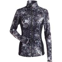 Nils Lexi Print Fleece Full Zip Jacket Womens