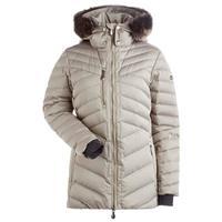 Nils Sonja Faux Fur Chinchilla Jacket Womens