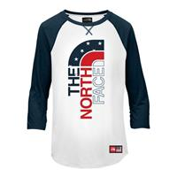 The North Face IC Tri-Blend 3/4 Tee - Girl's