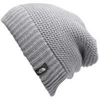 TNF Light Grey Heather The North Face Purrl Stitch Beanie Womens